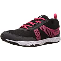 Reebok Women's Tempo Speedster Black,Grey,Pink And White Running Shoes - 5 UK