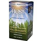 Fungi Perfecti Host Defense My Community , 120 Vegetarian Capsules