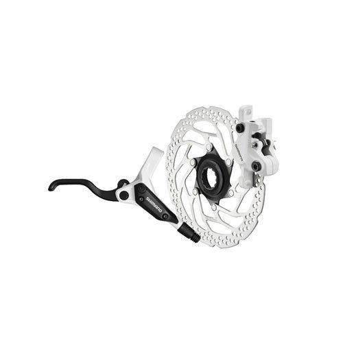 Buy Low Price Shimano BR-M395/BL395 Disc Brake Kit – Rear, White (EM395SRXRA170)
