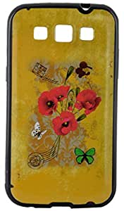 Generic Back Cover for Samsung Grand Quattro I8552 (Multi Color)