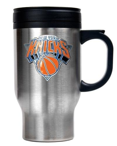 Nba New York Knicks Stainless Steel Travel Mug - Primary Logo front-611383