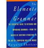 img - for [(Elements of Grammar)] [Author: Margaret D. Shertzer] published on (September, 1996) book / textbook / text book