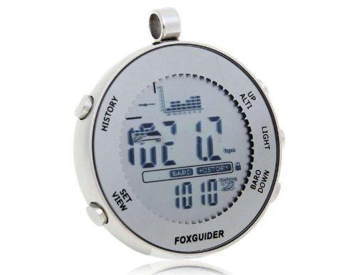 Digital Fishing Barometer (Silver) Produced by YSK