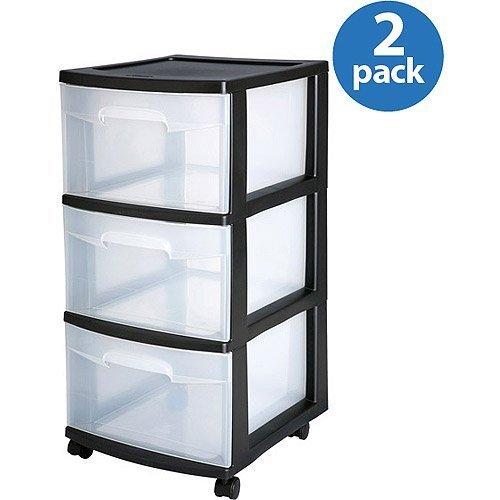 sterilite-3-drawer-medium-cart-set-of-2