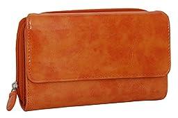 475/D159 Mundi Women\'s My Big Fat Wallet Organizer Clutch (ORANGE)