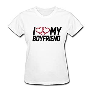Love Boyfriend T Shirts For Women
