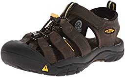 KEEN Newport Premium Sandal (Toddler/Little Kid/Big Kid),Dark Brown,10 M US Toddler