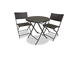RST Outdoor Bistro Patio Furniture, 3-Piece from Red Star Traders - Lawn and Garden