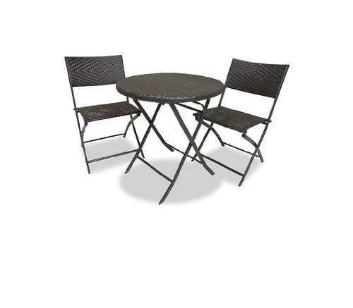 RST Outdoor Bistro Patio Furniture, 3-Piece