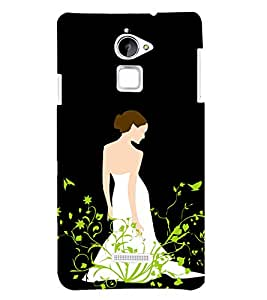 PRINTSHOPPII CUTE GIRL Back Case Cover for Coolpad Note 3 Lite