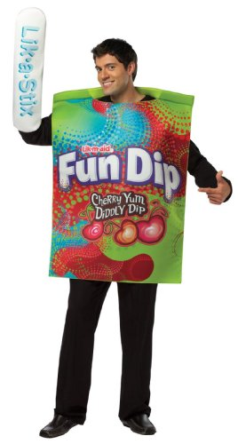 Rasta Imposta Unisex Fun Dip Wrapper Adult Costume
