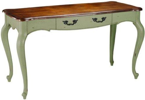 Green writing desk