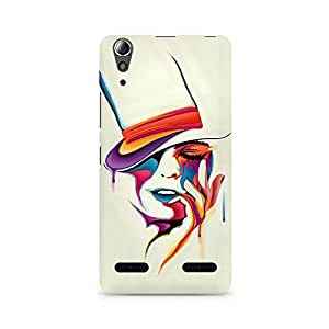 Mobicture Girl Abstract Premium Printed Case For Lenovo A6000