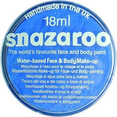 Snazaroo Classic 18ml Makeup Face & Body Paint - Sky Blue