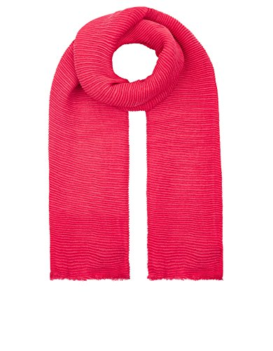 Accessorize Womens Lily Ribbed Scarf Size One Size Pink