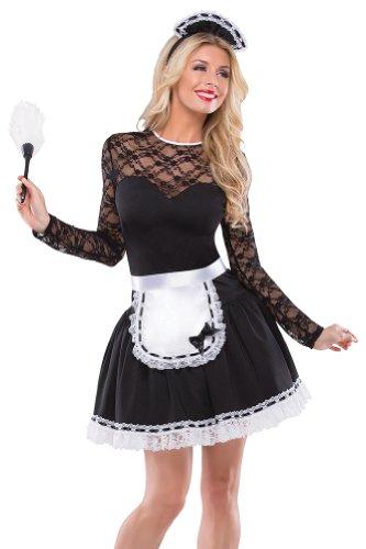 French Woman Halloween Costume French Maid Halloween ...