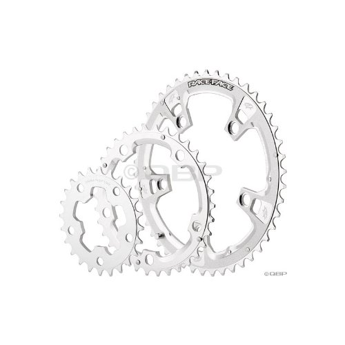 Race Face Race Chainring Standard, 110mm, 26/34/46T, Silver