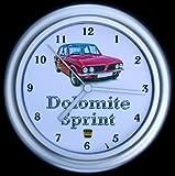 Triumph Dolomite Sprint Car Wall Clock