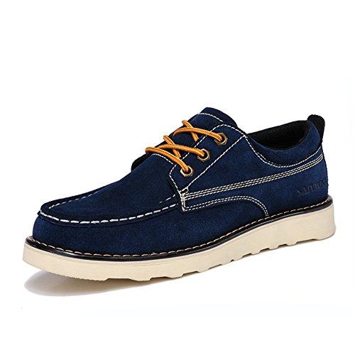 Automne casual chaussures/ Éclairage d'Angleterre dans les chaussures d'hiver /Gros souliers/Chaussures en daim