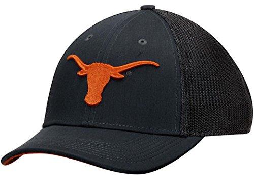 Texas Longhorns Nike Performance L91 Mesh Back Swoosh Flex Hat (Black, L/XL) (Nike Slides Orange And Black compare prices)