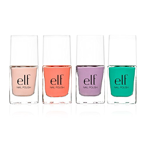 mac nail polish e.l.f. 4 Piece Nail Polish Set