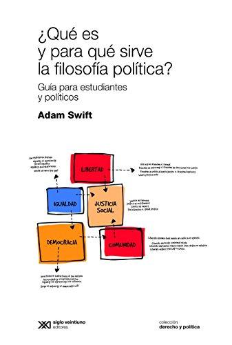 ¿Qué es y para qué sirve la filosofía política? Guía para estudiantes y políticos (Derecho y política)