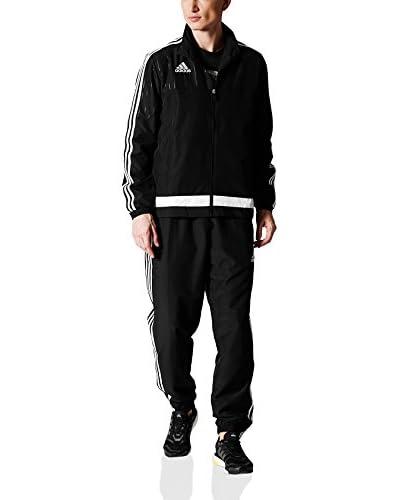adidas Trainingsanzug Tiro15 Pre Suit schwarz/weiß