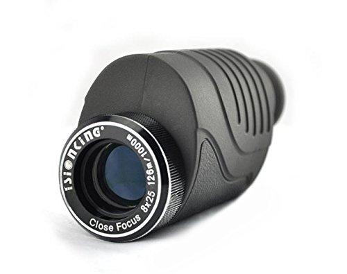 Hfire Visionking Portable Monocular Close-Focus 8X25 Bak4 Prism Telescope