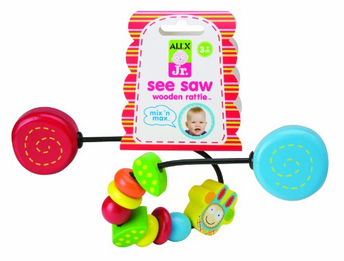 ALEX Toys ALEX Jr. See Saw Wooden Rattle - 1