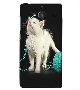 XIAOMI REDMI 2S CUTE CAT Designer Back Cover Case By PRINTSWAG