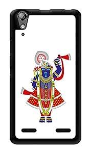 "Humor Gang Tirupati Balaji God Printed Designer Mobile Back Cover For ""Lenovo A6000 Plus"" (3D, Glossy, Premium Quality Snap On Case)"