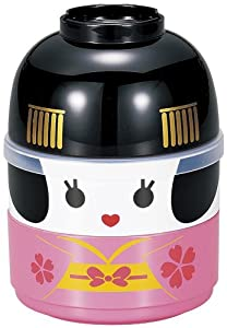 Japanese Geisha Doll Lunch Bento Box (japan import)