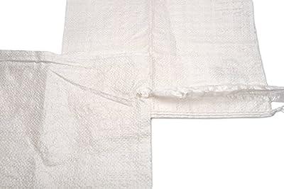 Sand Bags - Empty White Woven Polypropylene Sandbags