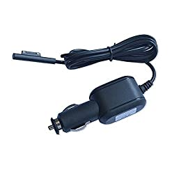 VIMVIP® Magnetic Power Car Charger for Microsoft Surface Pro 3 12 Inch Tablet,DC Ouput 12V 2.58A