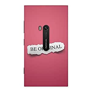 Stylish Be Orignal Multicolor Back Case Cover for Lumia 920