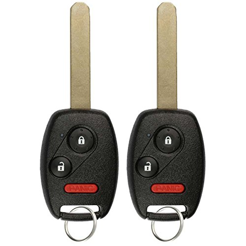 KeylessOption Keyless Entry Remote Control Car Key Fob Replacement for N5F-S0084A (Pack of 2) (2012 Honda Civic Lx Accessories compare prices)