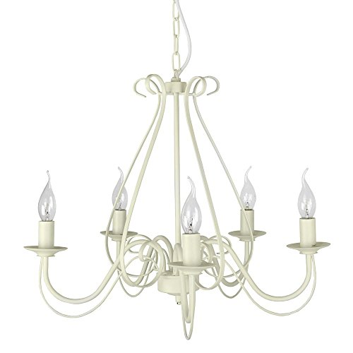 large-ivory-white-vintage-style-5-way-ceiling-light-chandelier
