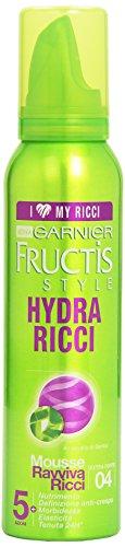 Garnier Fructis Hydra Ricci Mousse Ravviva Ricci Fissaggio Extra Forte, 150 ml