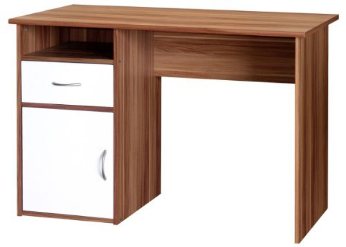 Hastings AW22145 Home Office Desk H758xW1110xD596mm - Color: French Walnut Effect