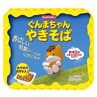 大黒 ぐんまちゃんやきそば (ほくほくポテト入り) 119g 1ケース(12食入)