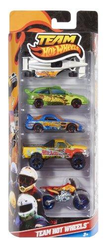 Imagen 2 de Mattel W2638 Hot Wheels - Pack de 5 vehículos