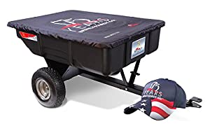 Brinly 175LTD 7 Cubic Feet Limited Edition Poly Utility Cart, 450-Pound, Black from Brinly Hardy