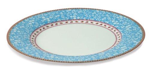 pip-speiseteller-ribbon-rose-lovely-branches-blau-blue-265cm-durchmesser