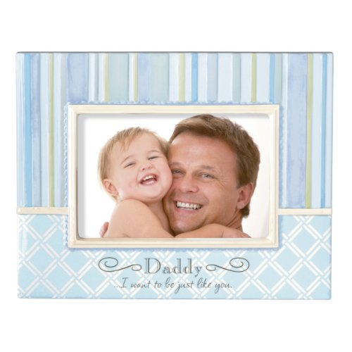 Grasslands Road Baby It's You Stoneware Frame, Daddy..I Want to be Just Like You, 7-1/2 by 9-1/2-Inch