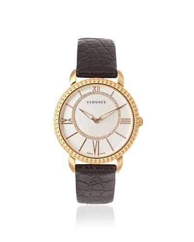Versace Women's M6Q80SD498 S009 Krios Black/Mother of Pearl Watch