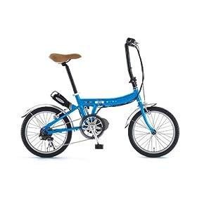 Mini 折り畳み 18インチ 電動アシスト 自転車 6段ギア ASSIST AL-FDB186