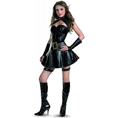 [GSG Baroness Costume Adult GI Joe Sexy Cosplay Halloween Fancy Dress] (Gi Joe Cosplay Costumes)