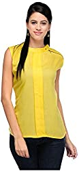 R&V Women's A-Line Top (TOP2018_Ylw, Yellow, M)