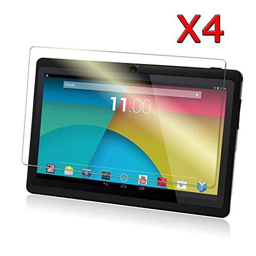 Transwon-4-Pack-Ultra-Clear-HD-Screen-Protector-for-7-Inch-Android-Tablet-inclu-Dragon-Touch-Y88X-Plus-Y88-Q88-Alldaymall-A88X-A88S-7-NeuTab-N7-Pro-7-DanCoTek-7-Rearway-7-Tagital-T7X-7-Yuntab-7-Q88-Al