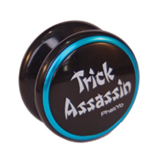 PhatYo Trick Assassin Yo-Yo - Black - 1